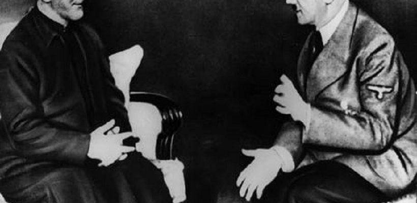 אדולף היטלר והמופתי הפלסטיני