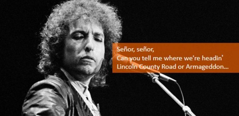 בוב דילן: סניור הוא לא שיר מחאה